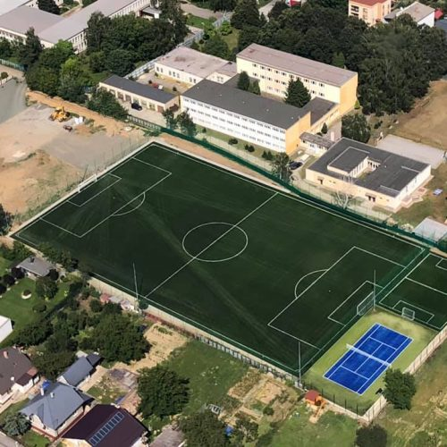 Výstavba športových plôch