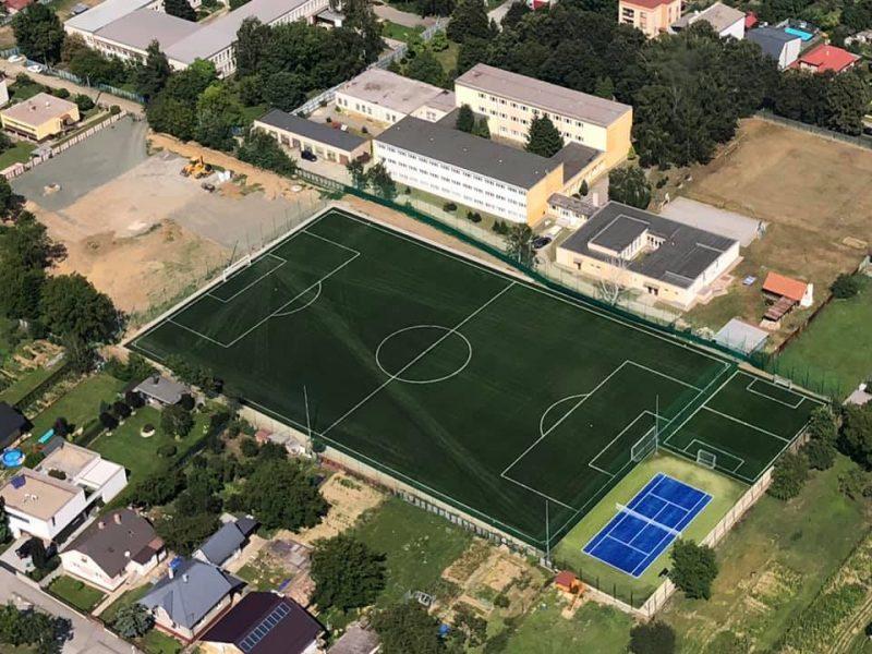 Košice - Barca - Vystavba futbalového ihriska Janočko akademi