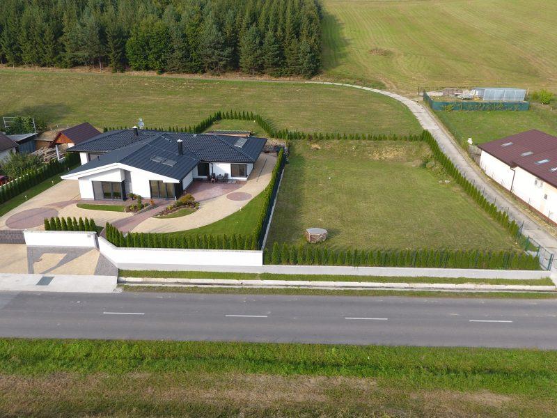 Výstavba moderného nízko-energetického rodinného domu, Nižný Kručov