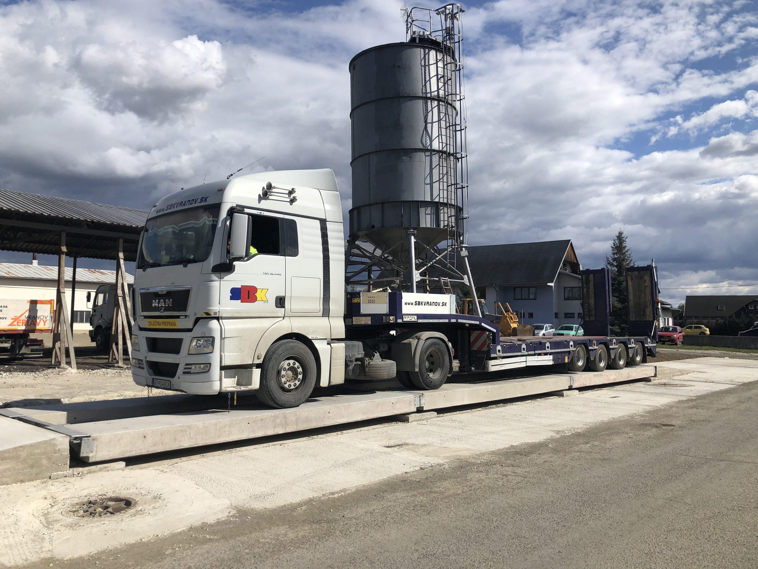 Vieme Vám odvážiť tovať do 60 ton